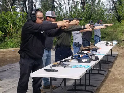 Firearms training courses at G4 Firearms in Santa Rosa, CA.