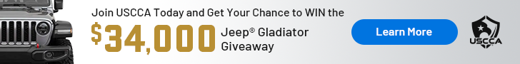 Join USCCA for a chance to win a Jeep Gladiator.