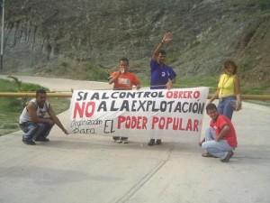 venezuela control obrero planta de reciclaje