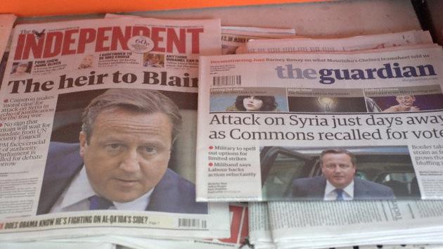 diarios ingleses