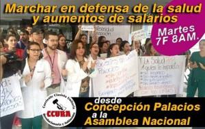 venezuela Banner-marcha-salud