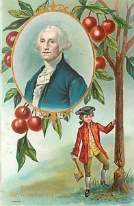 From Cherry Trees to Wooden Teeth– Happy Birthday Mr President!