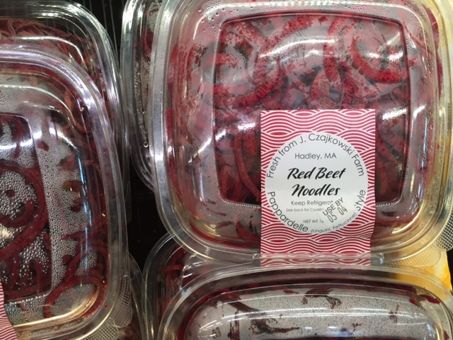 packaged beet noodles