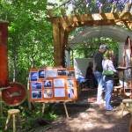 Forest-fair-booth-from-path
