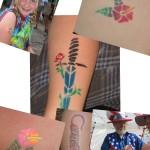 Tattoos-Collage