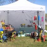 Booth-Setup
