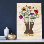 Bouquet-Wood
