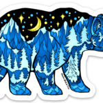 Bear-Blue-Bear-with-Black-Sky-Sticker