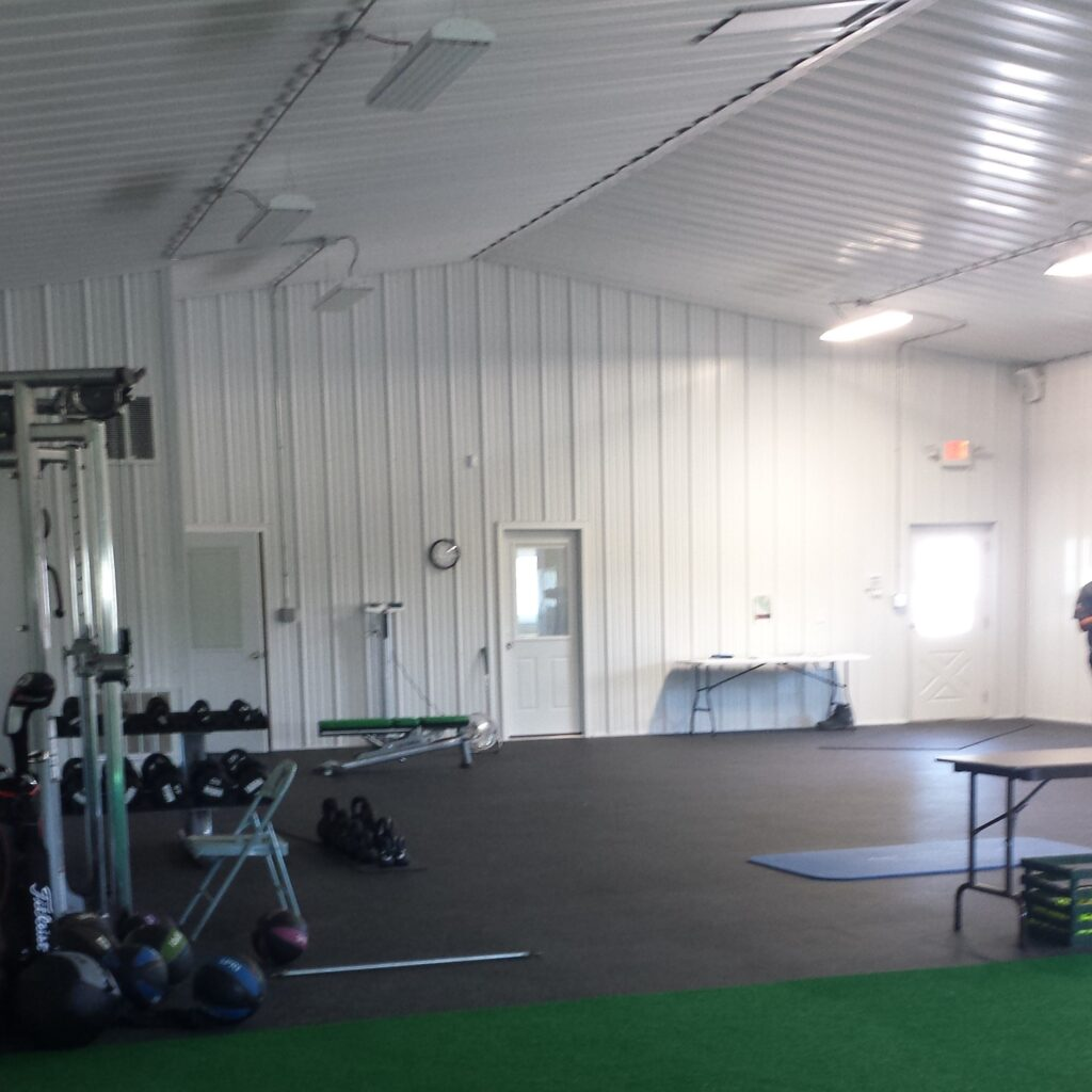 Main fitness area