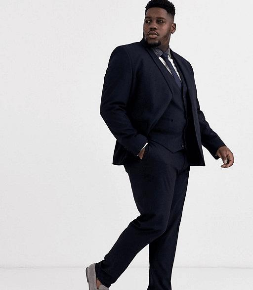 Dressing for Success for Men Plus Size