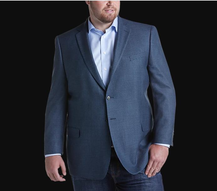 Dressing for Success for Husky Men