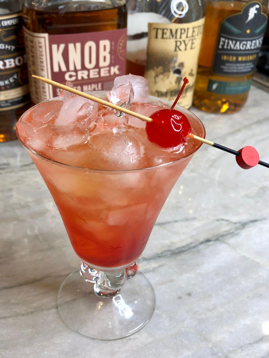 Ward 8 Whiskey Cocktail