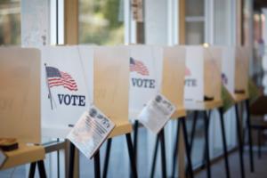 Voting Booths Centrist