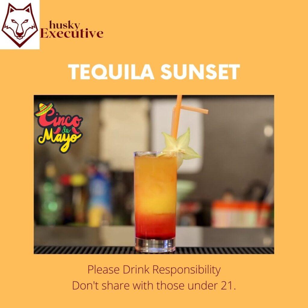 Tequila Sunset Cinco De Mayo Recipe