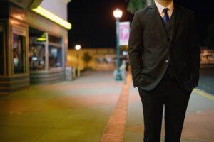 Husky Men Suit