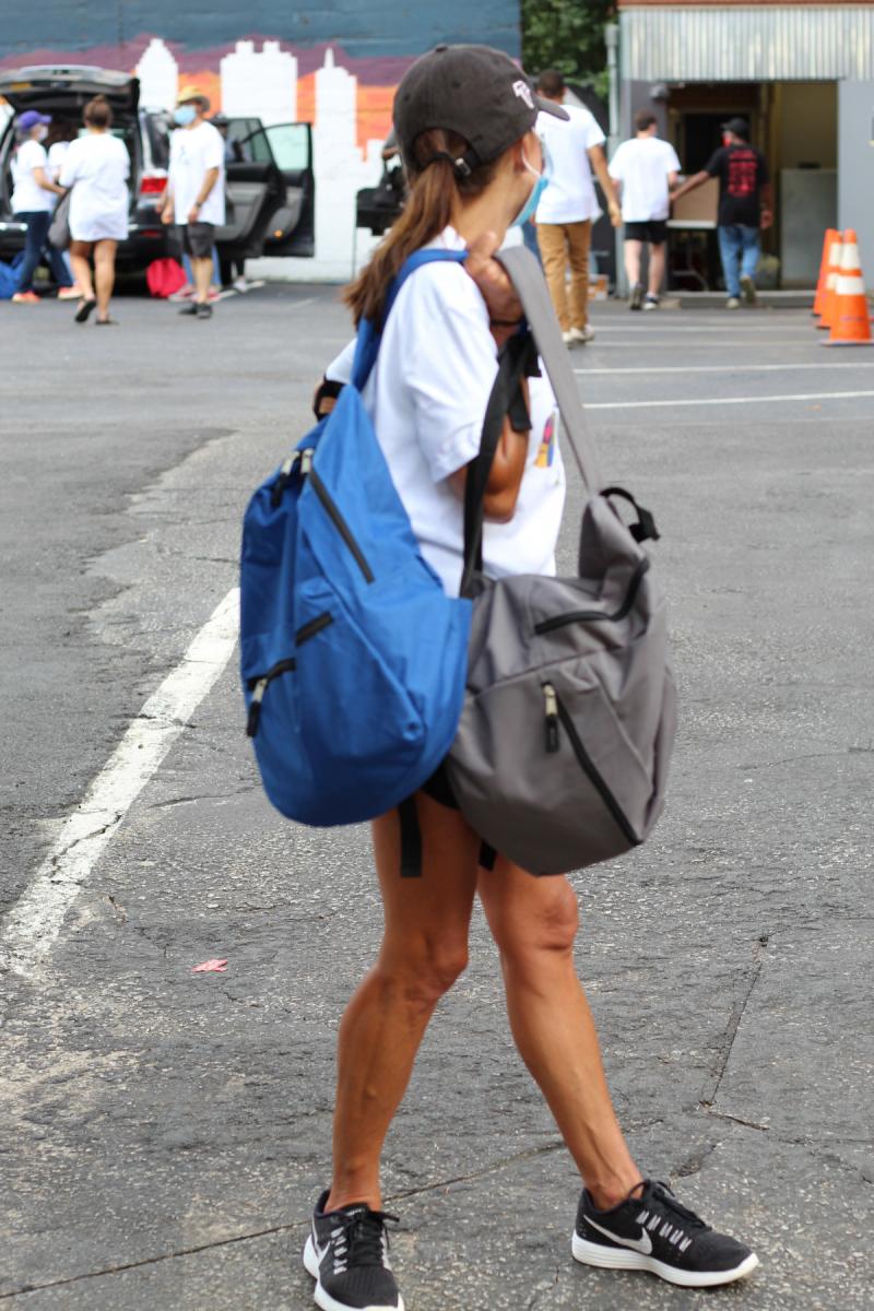 Plenty of backpacks for all!