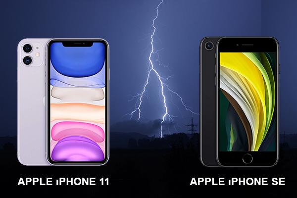 iphone se vs iphone 11