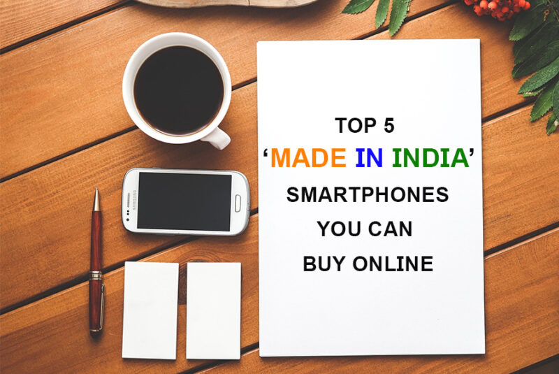 made in india smartphones