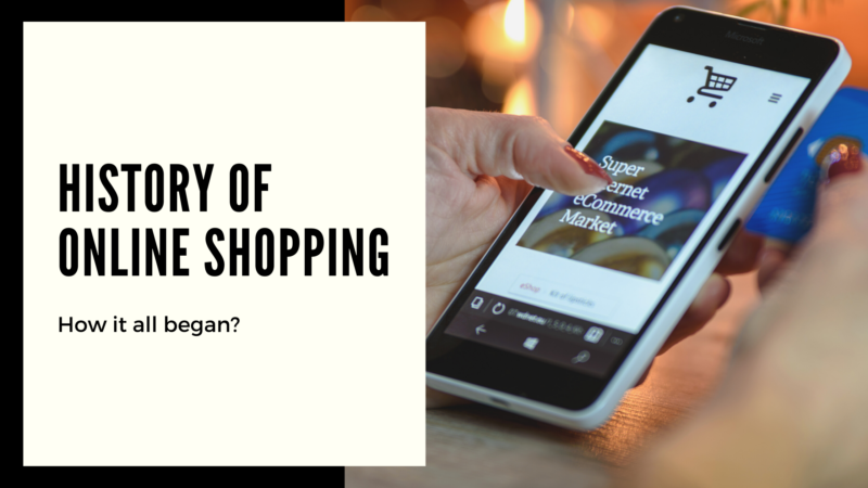 History of Online Shop