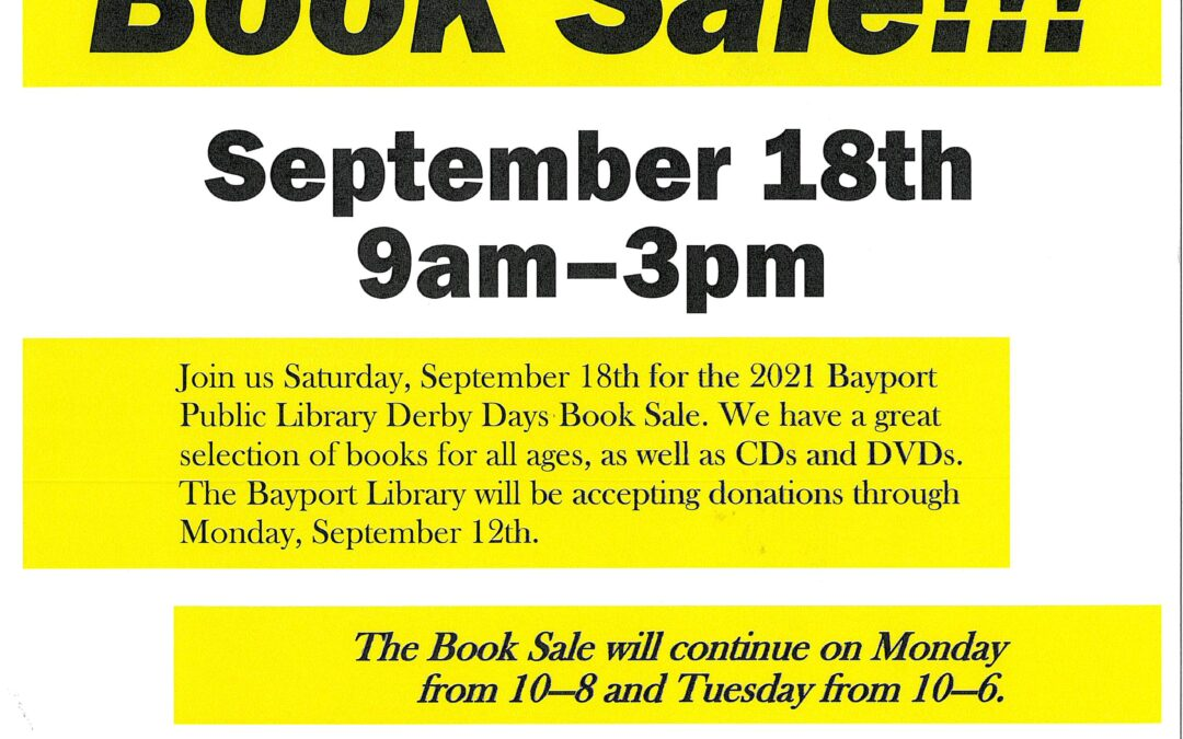 Derby Days Used Book Sale