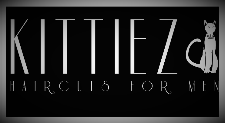 Kittiez Haircuts for Men and Kitty logo
