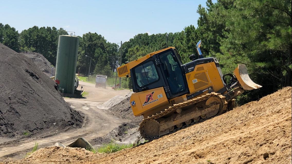 Garner Asphalt Plant Excavation