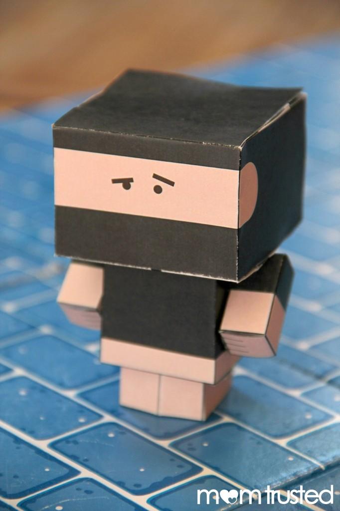 paper cube ninja 6