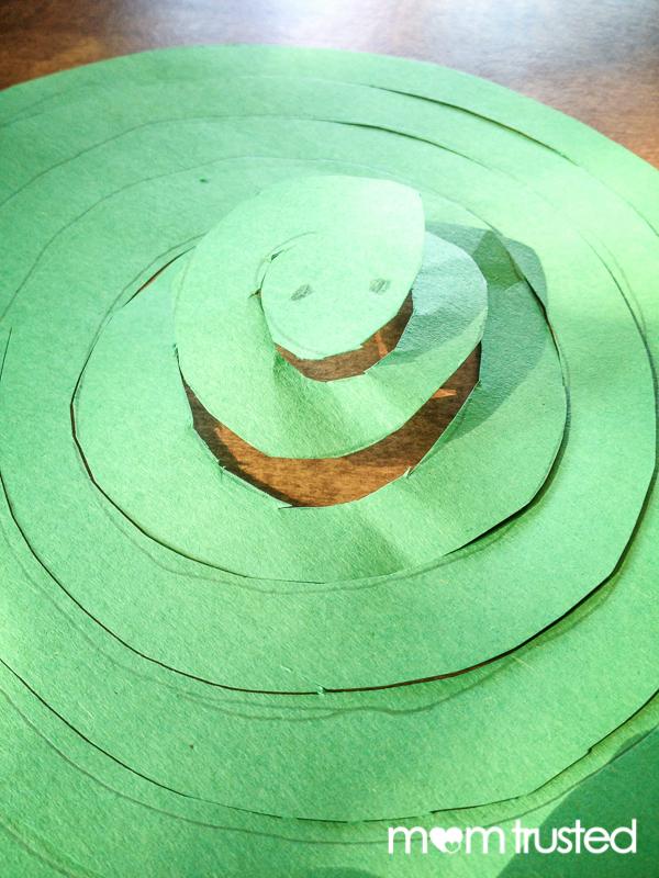 paper snake cutting work