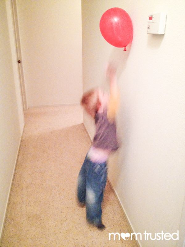 Static Electricity Balloon Science Experiment
