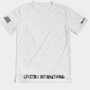 White Lifestyle International 1st Class Tee