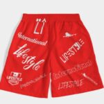 Overseas Shorts Red