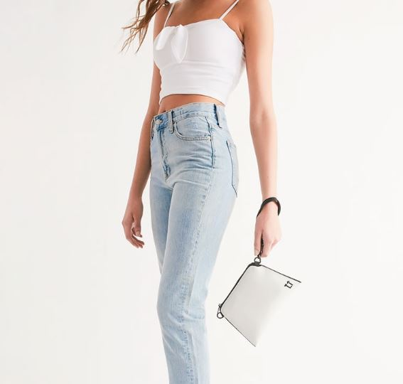 Cross-body Wristlet Handbag