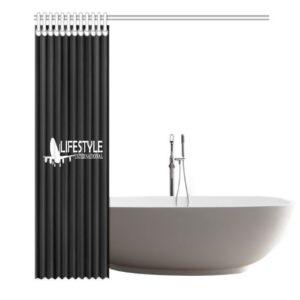 Shower Curtain Black