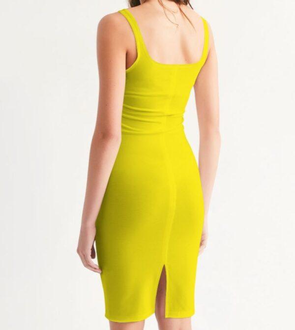 Bodycon Dress yellow