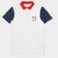 Travel Club Polo Blue Red White