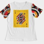 Deck of Cards Tee white