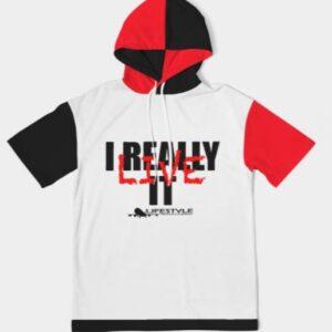 IRL colorway hoodie tee