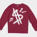Dollar Signs Sweatshirt 1