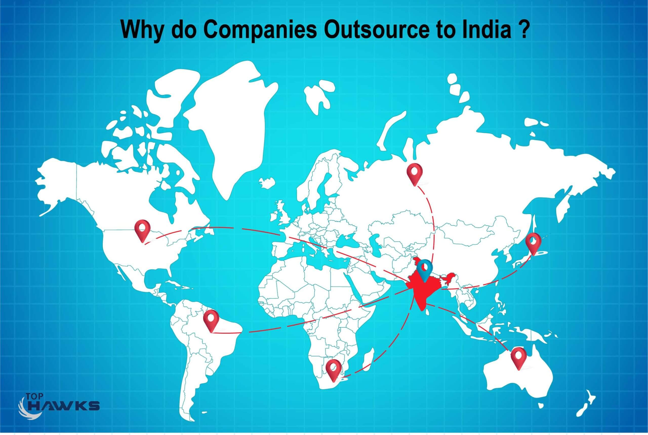 Why do companies outsource to India?