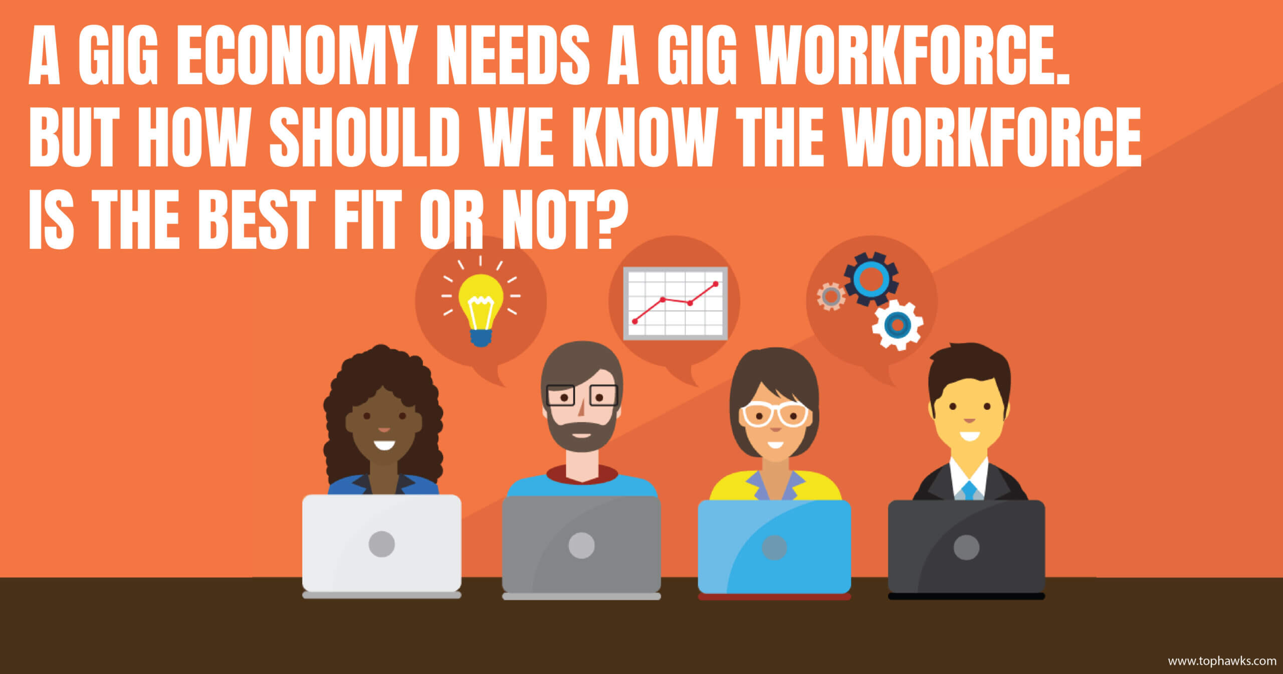 A gig economy needs a gig workforce. But how should we know the workforce is the best fit or not?