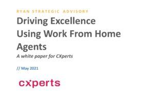 RYAN STRATEGIC ADVISORY - A white paper for CXperts