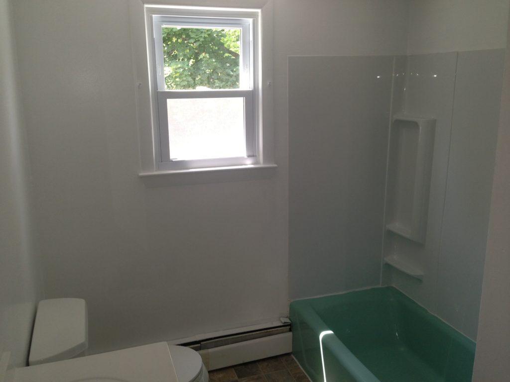 2 BR  Bathroom Sample