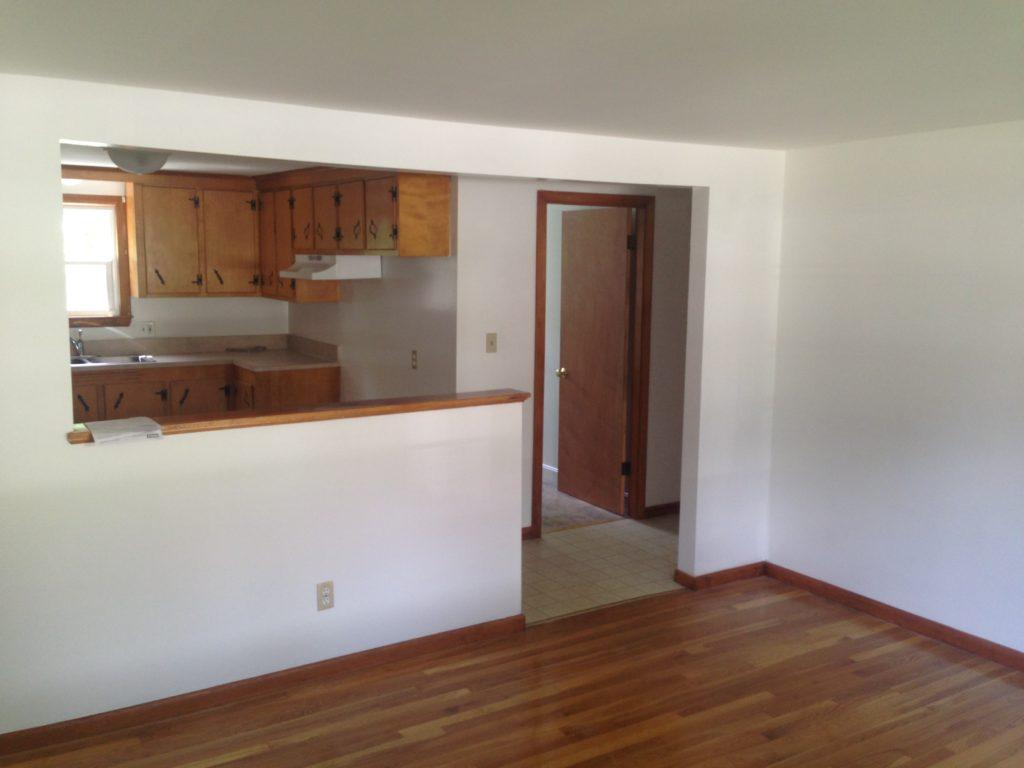 2 BR Open Livingroom
