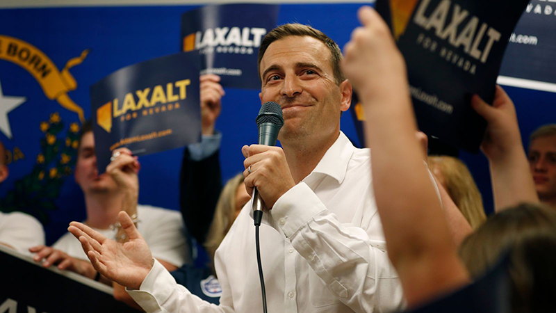 Economic plan shows Laxalt is running a campaign of ideas