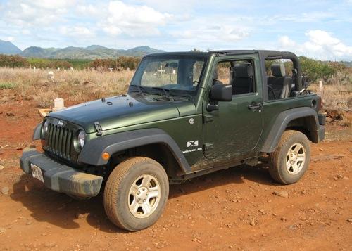 Kauai Jeep