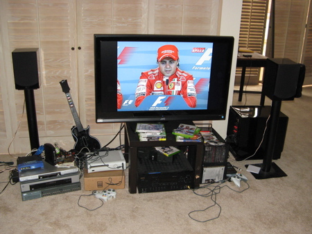 My Current Entertainment Center