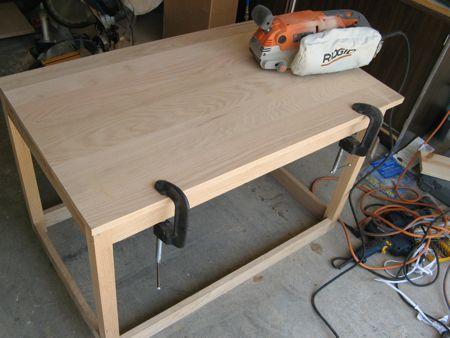 belt sander for entertainment center table top