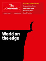 Economist Cover Everyone's Going to Die
