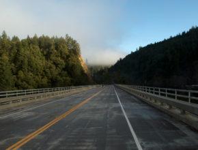 highway 101 near redwoods national park