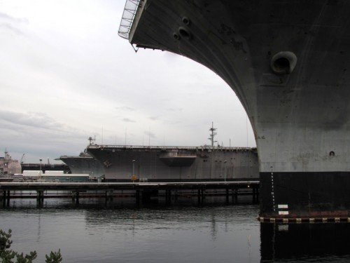 Bremerton Naval Yard Aircraft Carriers